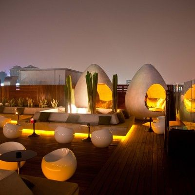 Migas, Sanlitun, Beijing - I'm definitely spending more time in this roofdeck…