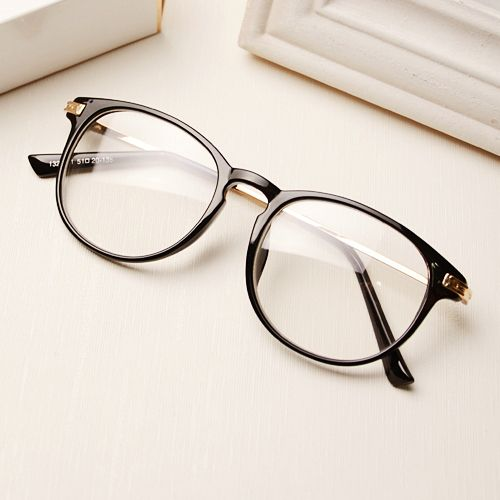 Newest 2015 Men Women Metal Frame Fashion Name Brand Designer Plain Glasses Vintage Reading Eyewear Eyeglass Oculos de grau - www.aliexpress.co...