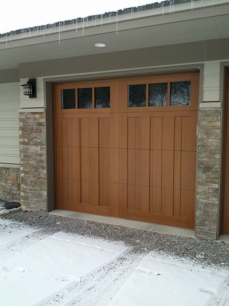 These doors are beautiful ez home exteriors garage for Beautiful garage doors