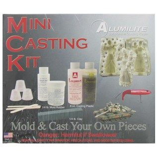 Alumilite Mini Casting Kit | Shop Hobby Lobby: Shops Hobbies, Hobbies Lobbies, Cups Stir, Silicone Rubber, Sets Silicone, Minis Cast, Cast Resins, Models Clay, Clay 4 Ounc