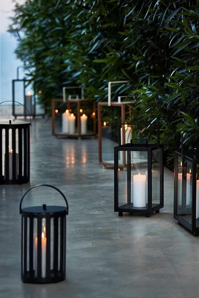 The Lighthouse Lantern Is The Perfect Companion To Any Garden Or Terrace Setting Or For That Matter Interior De Enclosed Patio Rooftop Terrace Porch Decorating