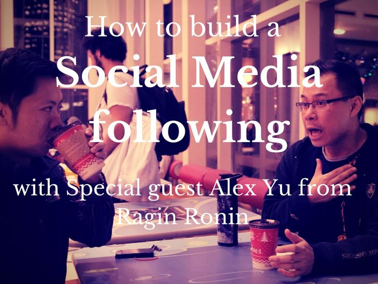 Building a following on Social Media - with Ragin Ronin's Alex Yu Part 3 http://chicvoyagetravel.com/?p=2980
