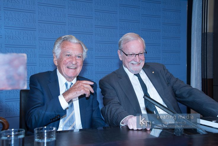 "Gareth Evans And Bob Hawke At The National Press Club To Launch ""Incorrigible Optimist: A Political Memoir"""