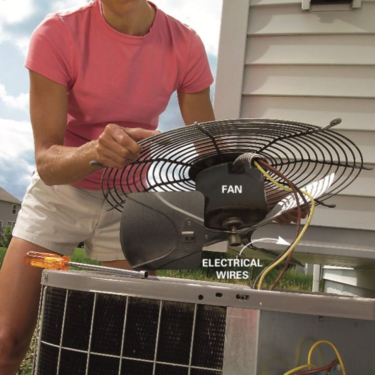 How to Clean an AC Condenser Air conditioner condenser