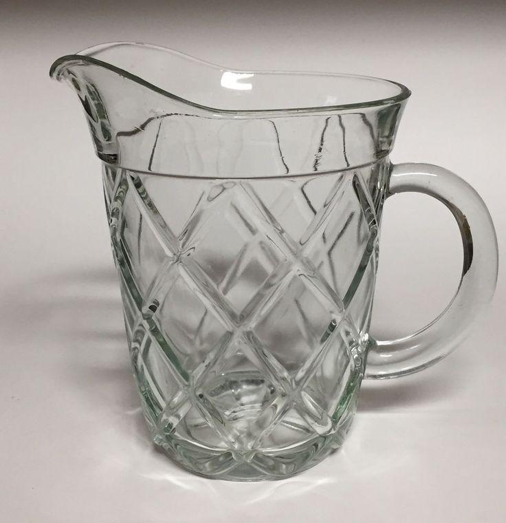 Vintage ice tea glasses red diamond