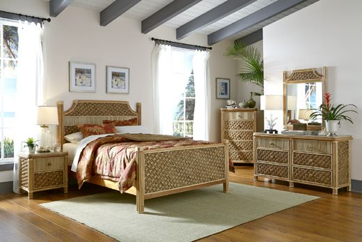 Mandalay Bedroom Collection from Spice Island Wicker