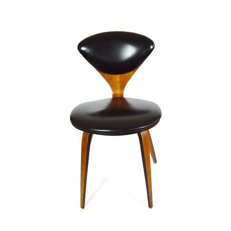 norman cherner deskdining chair refined curves