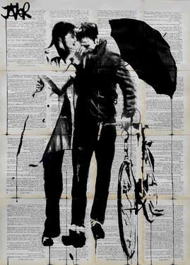 "Saatchi Art Artist Loui Jover; Drawing, ""wild hearts"" #art"