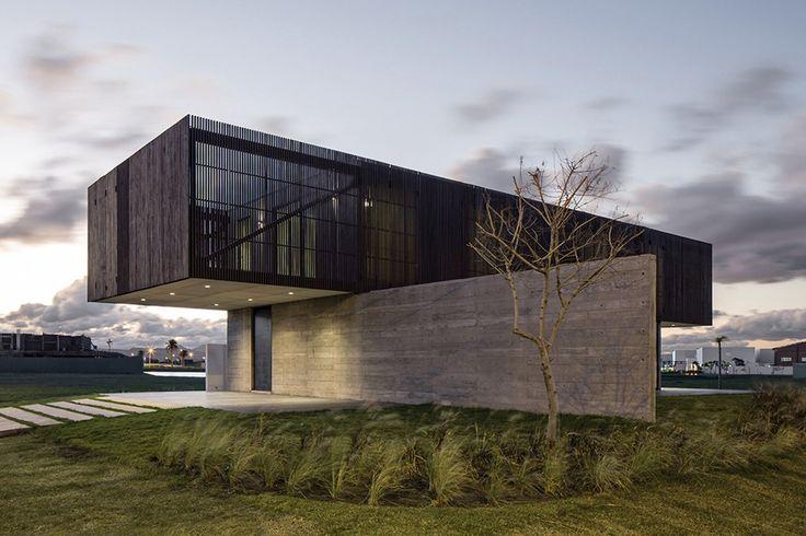 Modern looking house.