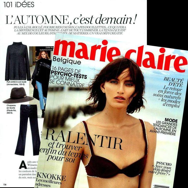 L'autumne, c'est domain! #Anneclaire on Marie Claire België