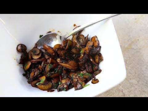 How to Sauté Mushrooms   SAM THE COOKING GUY - YouTube