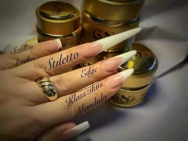 Gold Nails Hungary products with- Andi Nail London