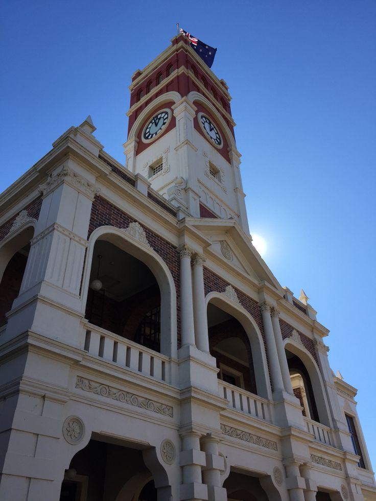 Blue skies in Toowoomba