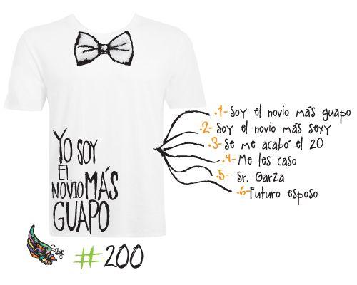 Camisetas originales para despedidas y bodas https://www.facebook.com/silosoybodas