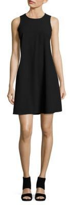 Lauren Ralph Lauren Crepe Trapeze Dress