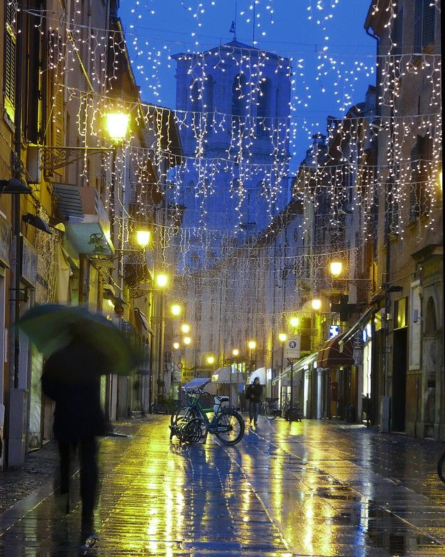 Luci di Natale in Italia