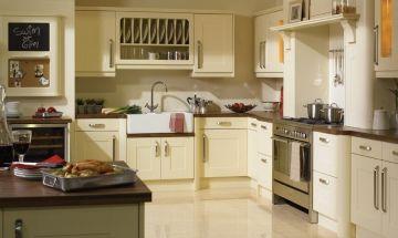 Bella Vanilla Colour Kitchen - By BA Components.
