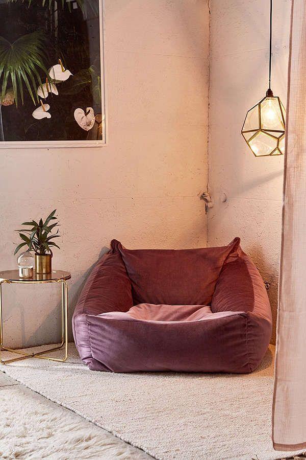 Slide View: 2: Cooper Velvet Lounge Chair