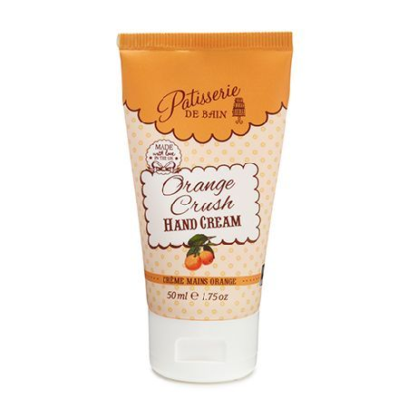 Patisserie De Bain Orange Crush Hand Cream Tube Whiskingyour senses away to sunny picnics, Orange Crush is a fabulously fruity andfresh hand cream inspired by summer drinks with a hint of sherbety sweetness. Directions: Work into the hands until ab http://www.MightGet.com/january-2017-11/patisserie-de-bain-orange-crush-hand-cream-tube.asp