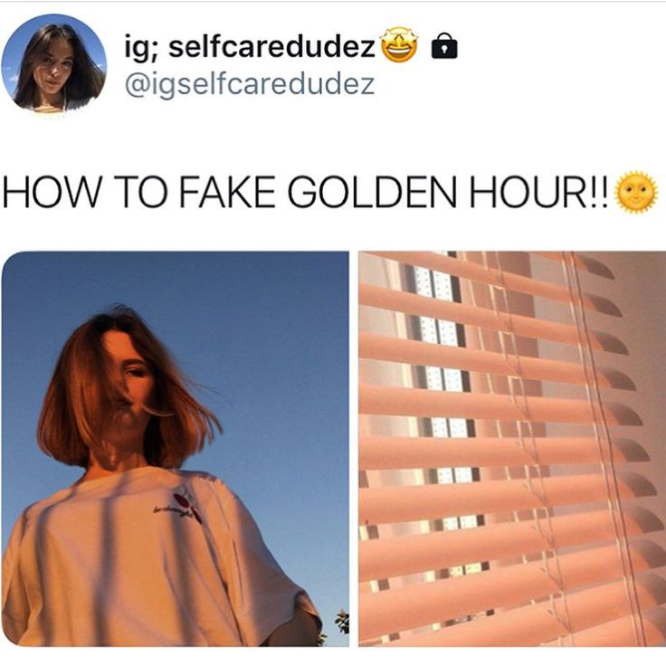 How to fake golden hour  Photography hacks  Golden hour