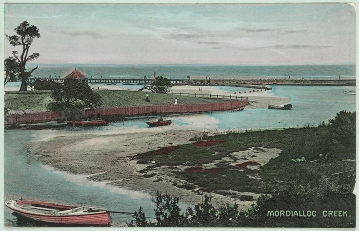 Mordialloc Creek 1919