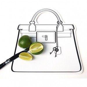 Snijplank 'Bag' Wit - Baci Milano