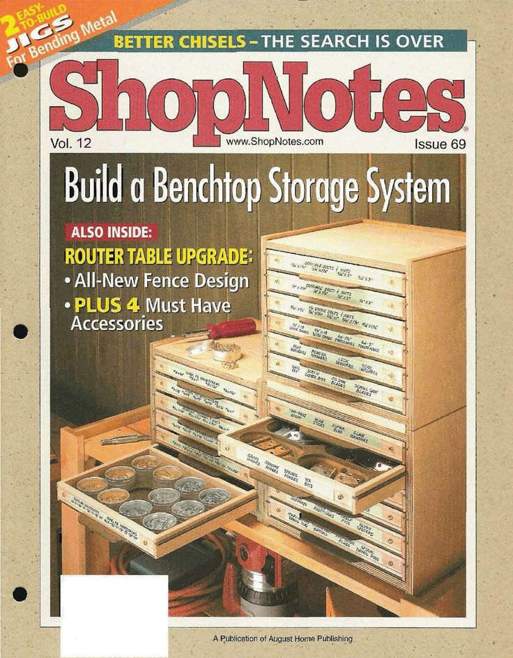 Shopnotes issue 69 by Adrian Kuney