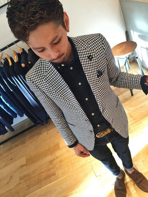 麻布テーラーのテーラードジャケットを使ったYUSUKE5のコーディネートです。WEARはモデル・俳優・ショップスタッフなどの着こなしをチェックできるファッションコーディネートサイトです。