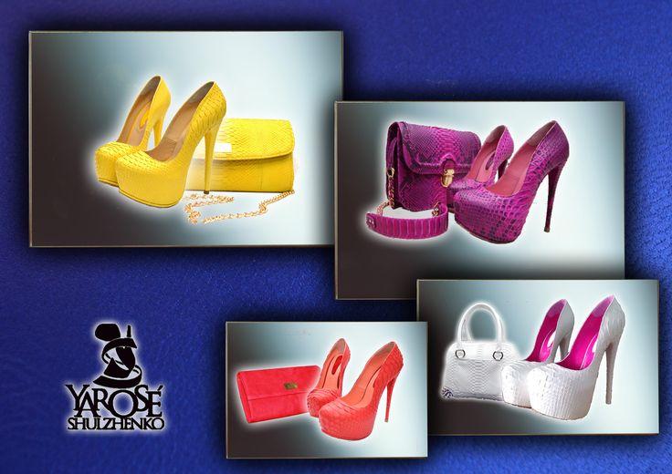 Yarose Shulzhenko Heels and Bag