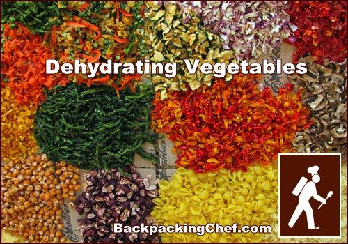 Best Site for Dehydration Information.  I dry for everyday use, too!   Dehydrating Vegetables
