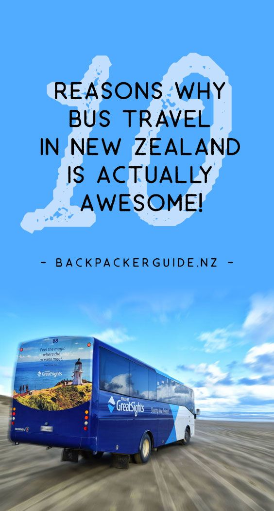 """Sit back, relax and take the bus: Why Bus travel in NEw Zealand is awesome! Travelling by the """"peasant wagon"""" doesn't have the most glamorous reputation but we can think of a few great reasons why travelling New Zealand by bus is a good idea. New Zealand's most extensive public transport network is the bus network, and New Zealand bus companies make it more than """"just a bus ride"""". We'll go through those points in this list of why bus travel in New Zealand is awesome!"""