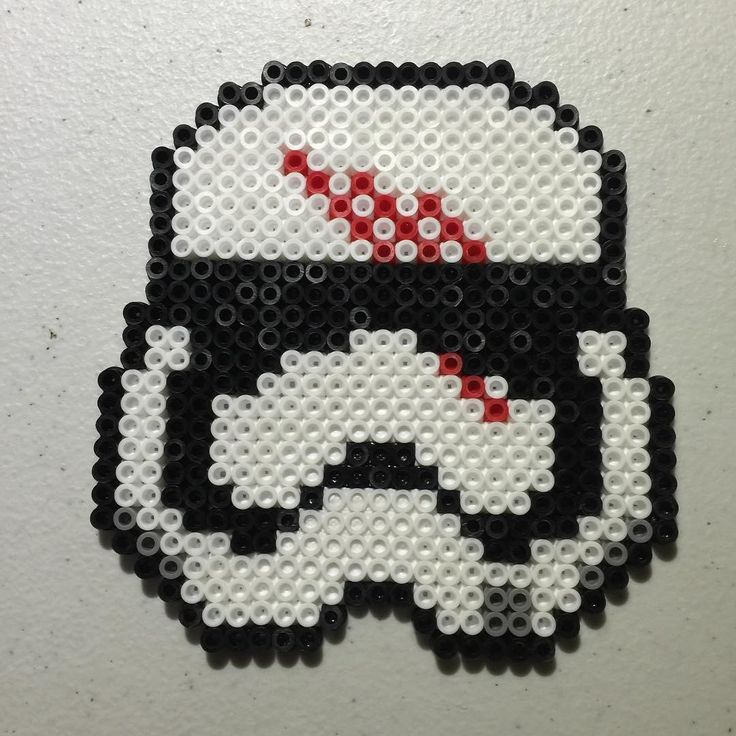 FN-2187 Finn - Star Wars VII perler beads by eitorapants