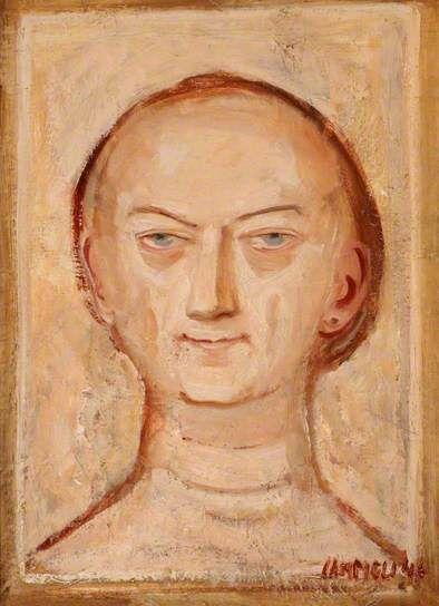 Self Portrait by Massimo #Campigli, 1946 #estorick
