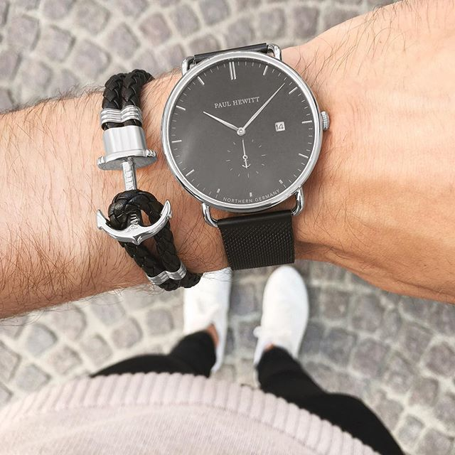 Delicately calibrated details and premium materials make our watches and accessories your special companions. ⚓️⌚️ #getAnchored #paulhewitt #grandatlanticline #phrep  #Regram via @paul_hewitt
