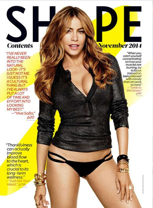 CHIMENTO & Sofia Vergara on Shape Magazine with Diana and Armillas collections. More on http://www.chimento.it/en/press/rassegna