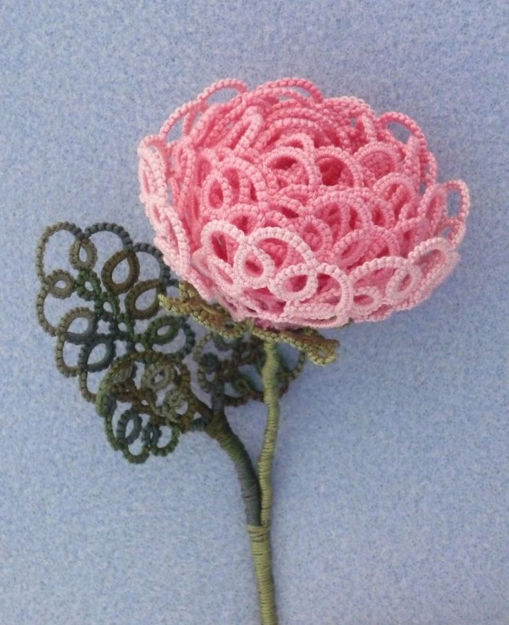 From March 26, Imagine Lace at Waddesdon. Continuing our contemporary programme, lace-makers and selected artists have been invited to respond to the collection at Waddesdon, which includes historic lace acquired by Baroness Edmond de Rothschild (1853-1935). Tatted rose based on Sèvres porcelain design;© Photo and design: Jennifer Williams