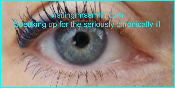 Visiting Mrs Smith is a blog speaking up for the seriously chronically ill written by ill people. http://visitingmrssmith.com/