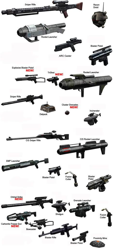 star wars weapons - Google Search