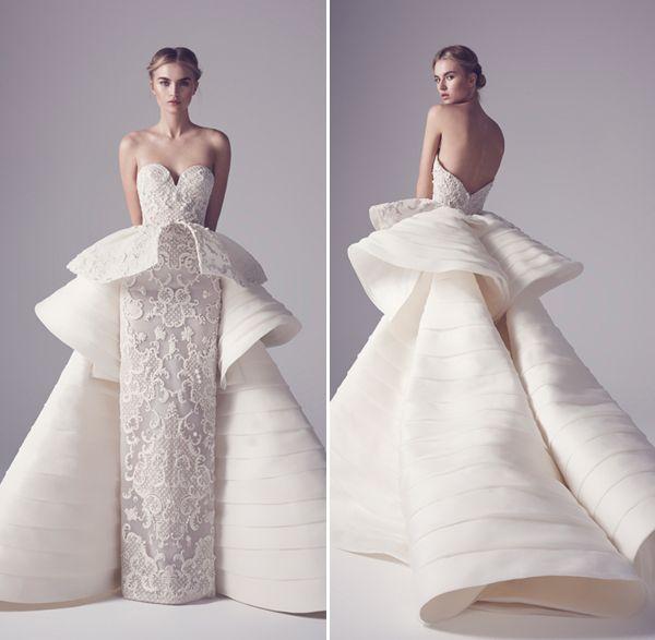 20 Statement-Making Modern Minimalist Architectural Gowns!