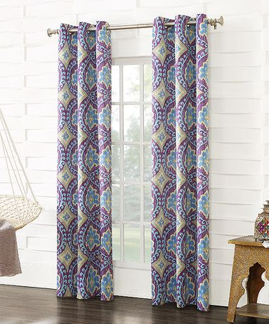 Love This Magenta Sun Zero Bena Room Darkening Curtain Panel On Zulily