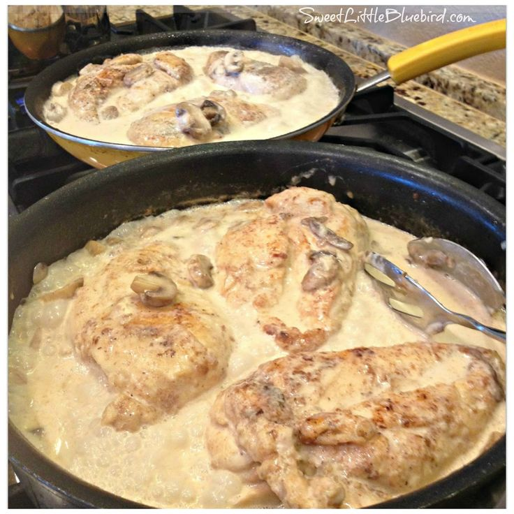 Chicken Breasts in Lemon Cream Sauce....I like Linda B's comments about using thin sliced chicken breast. Only cooking it for 10 minutes after adding chicken to sauce. Adding fresh rosemary and frozen peas towards the end of cooking. And serving over spaghetti squash for healthier version. I also may try using half & half instead of full cream.