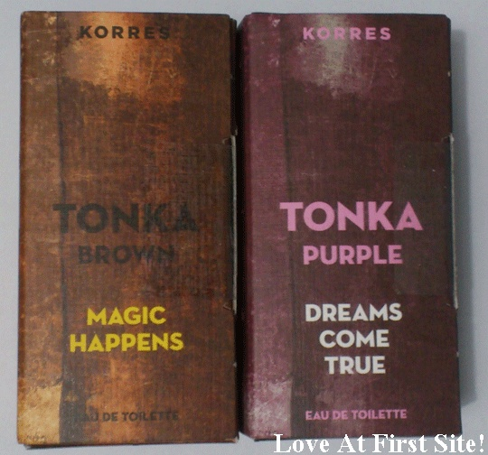 Korres new perfumes!!! TONKA!   Magic Happens! Dreams come true!