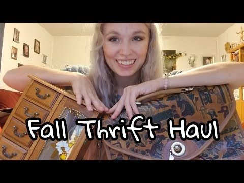 70627857ac41 Thrift with Me    Fall Thrift Haul - YouTube