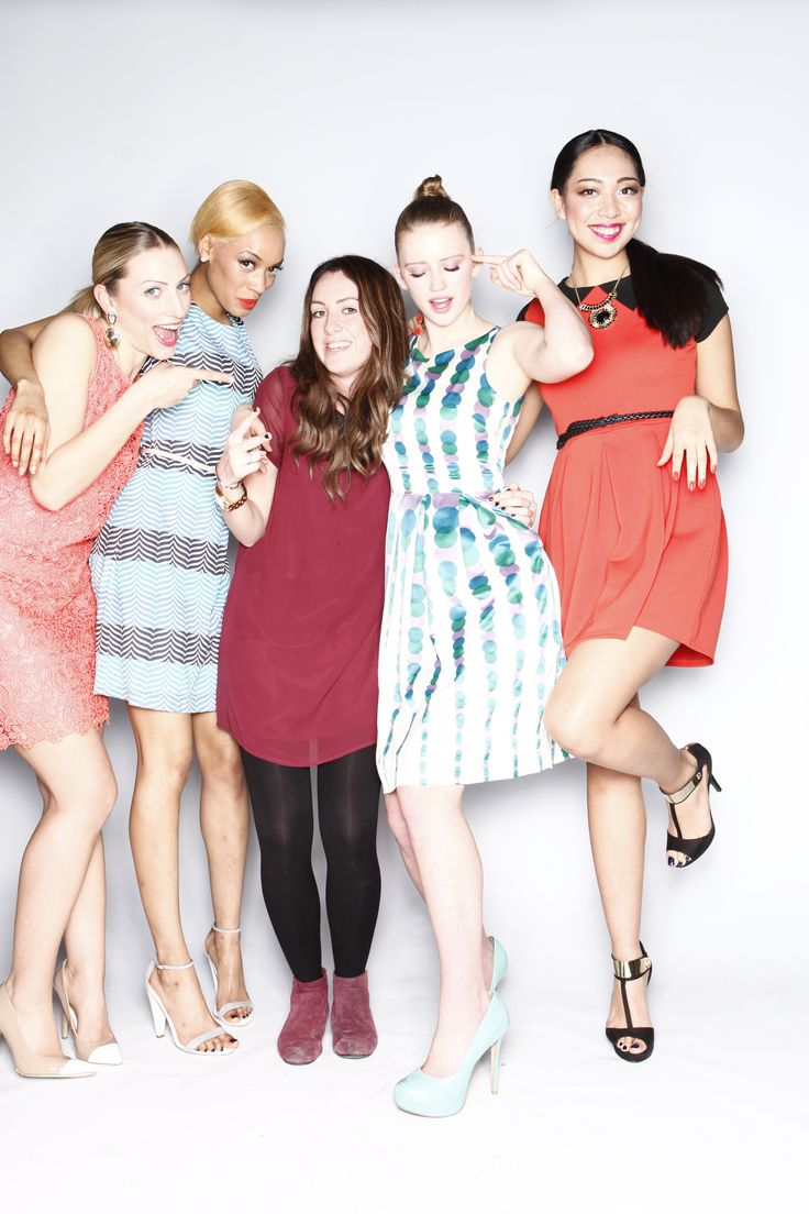 Our precious girls with Stylist Ema on set x Fever Designs