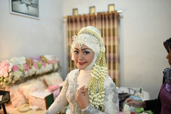 traditional Wedding hijab