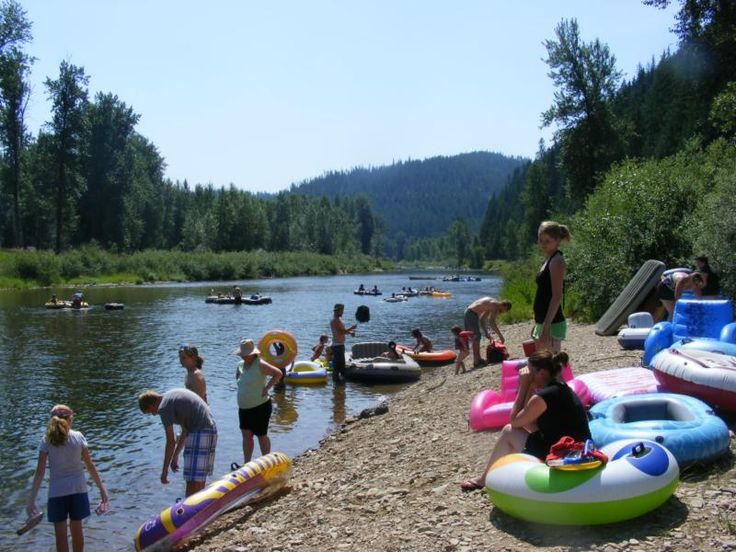 Floating the north fork of the Coeur d'Alene River - heavenly!