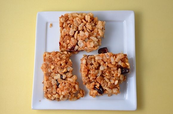 Short And Sweet. Peanut Butter Crispy Rice Treats. | KRISPY TREATS ...