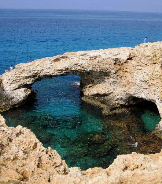 Rock bridge ~ Ayia Napa, Cyprus | Flickr - Photo by @CyprusPictures