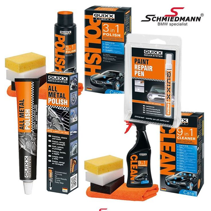 Take care of scratches and polish with our newly introduced Quixx System and their care and repair selection. You can order the whole range of products at Schmiedmann. Find out more here: http://bit.ly/1QFZnmY #bmw #bmwsport #polish #autowax #autocleaning #carlook #cargramm #autotrend #caroftheday #cars #beamer #BMWRU #БМВ
