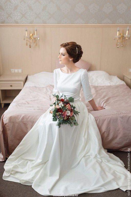 """Купить Свадебное платье """"Katrina"""" - белый, свадебное платье, пошив свадебного платья"""